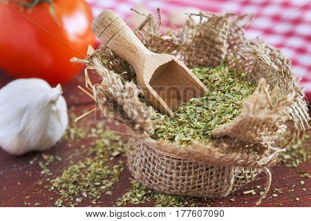 Dried Oregano Spice