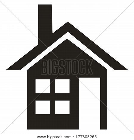 house domestic life residential building vector homepage small