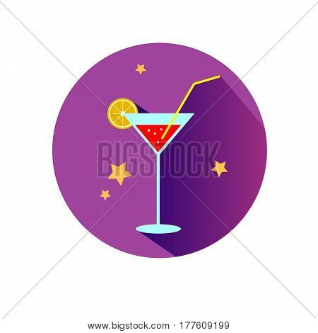 vector drink cocktail glass bar alcohol martini