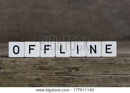 Offline, Written In Cubes