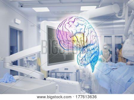 Advanced technologies of brain examination in medicine.