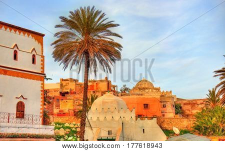 Cityscape of Safi, a city in western Morocco on the Atlantic Ocean. North Africa