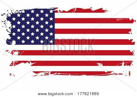 USA Flag american flag flag flat national flag