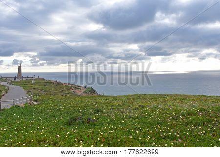 Landscape Of Cabo Da Roca, Portugal