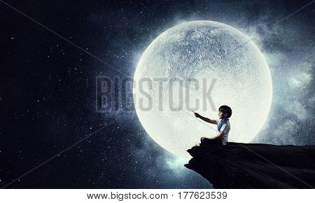 Childish sweet dreams . Mixed media