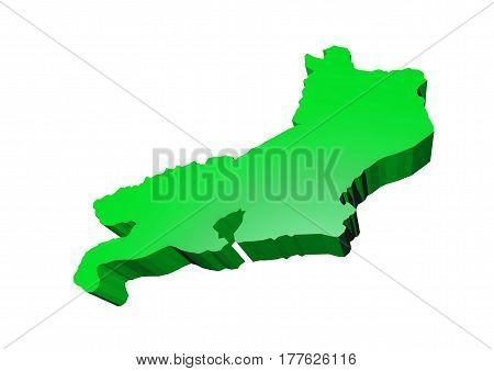 State of Rio de Janeiro located in Brazil