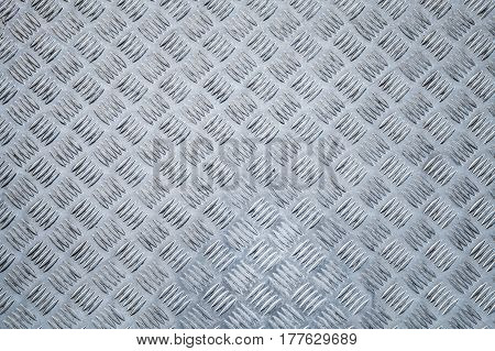 Metal Floor,  Diamond Plate Relief Pattern