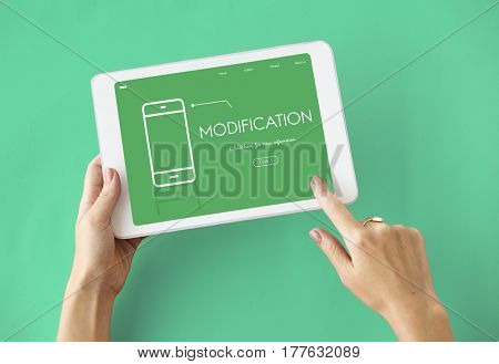 Mobile Phone Application Digital Technology Communication