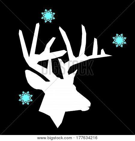 vector, deer, illustration, wildlife, animal, nature, wild