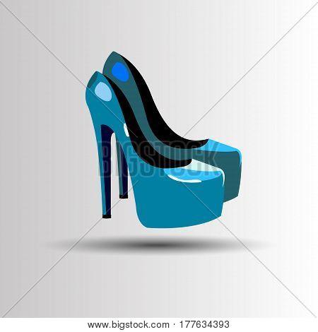 vector, fashion, illustration, silhouette, sketch, footwear, design