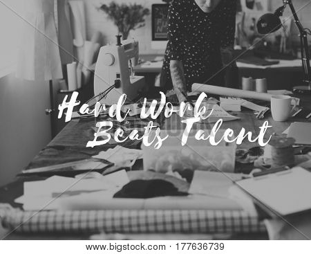 Hard Work Beats Talent Challenge Development