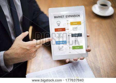 Business Development Investment Plan Graphic Design