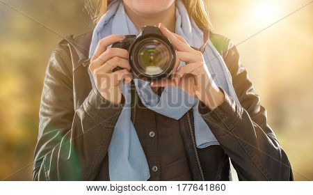 photographer camera dslr photo person portrait photographing