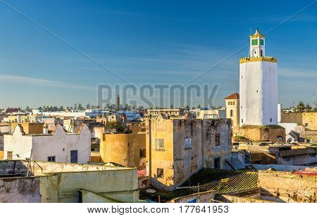 View of the old town of Mazagan, El Jadida, Morocco