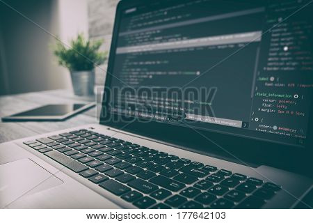 developer development web code tech coding program programming html
