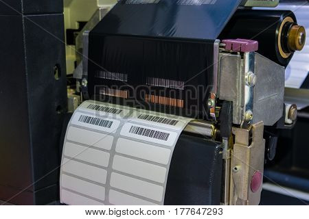 barcode label printer, business, code, paper, technology