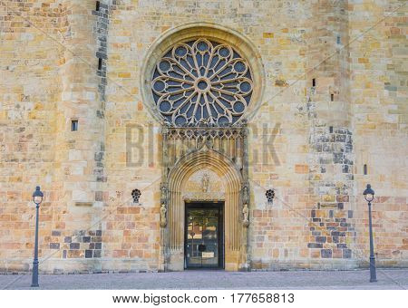 Entrance Of The Dom In Osnabruck