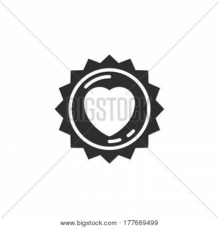 Id badge line icon Identification card outline vector sign linear pictogram isolated on white. Symbol logo illustration