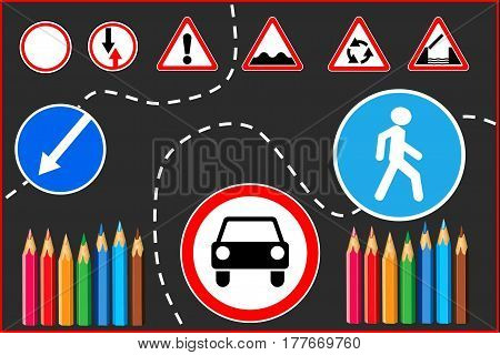 road signs. traffic signs, traffic aerial, traffic light, traffic icon,