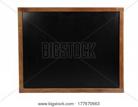 School blackboard on white background