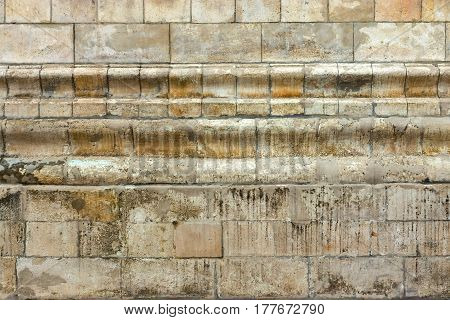 vintage background and old texture of an ancient stone wall