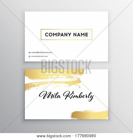 Set of Black and Gold Design Templates for Brochures Flyers Mobile Technologies and Online Services Typographic Emblems Logo Banners and Infographic. Abstract Modern Backgrounds.Brush stroke