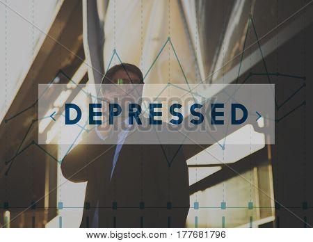 Depressed Emotion Feelings Chart Graph