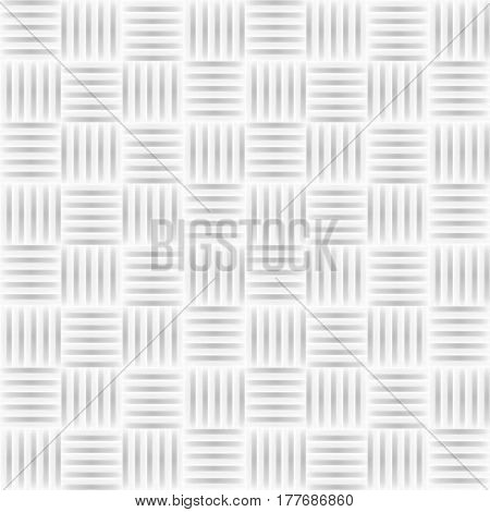 White tile texture - a seamless vector background.