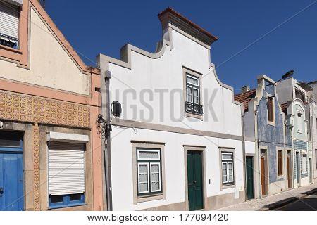 House tradicional Aveiro Portugal on a sunny day