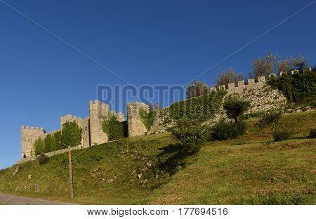 Castle of Montemor o velho Beiras region Portugal