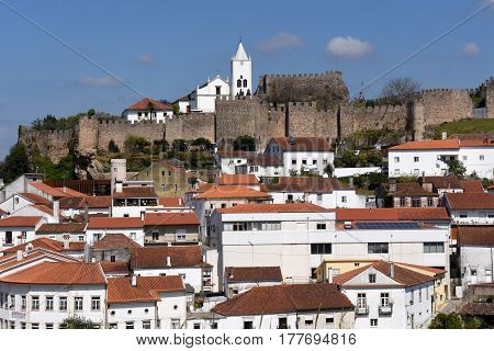Castle And Village Of Penela, Beiras Region, Portugal