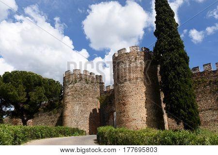 Castle of Vila Vicosa Alentejo Region Portugal