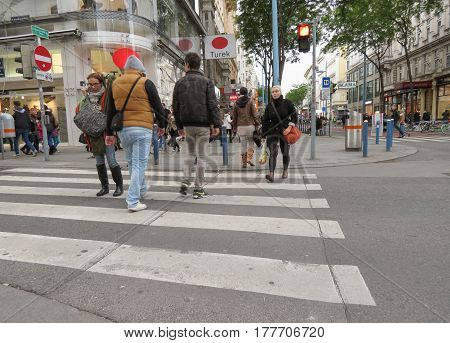 People In Vienna