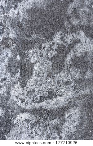Detail of a piece of Salpeter of the wall