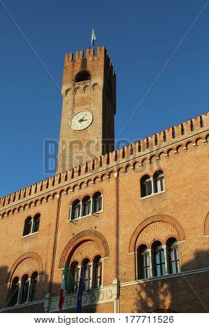 Building With Brick Facade And The Tower Called The Palace Of Th