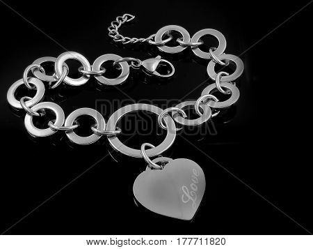 Ladies Bracelet - Silver Stainless Steel