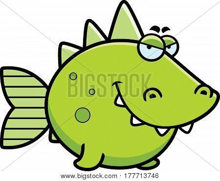 Sly Prehistoric Fish