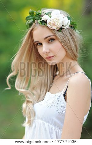 Portrait Of A Beautiful Young Model, Sexy Girl