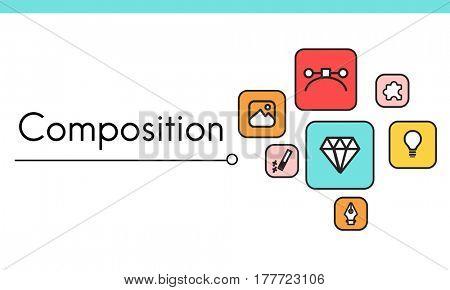Design Innovation Simulation Icon Graphic