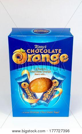Chocolate Orange Easter Egg