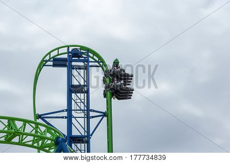 Hydrus Roller Coaster Testing