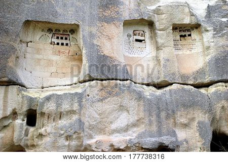 Travel To Goreme, Cappadocia, Turkey. The Ancient Rock Carvings.