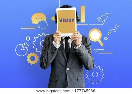 Businessman Communication Concept