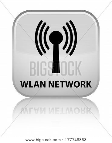 Wlan Network Special White Square Button