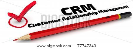 CRM. Customer Relationship Management. The mark