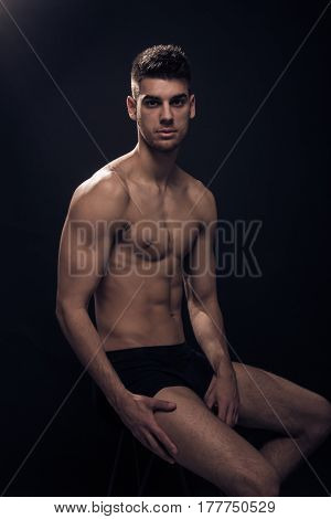 One Young Man, Shirtless Body,