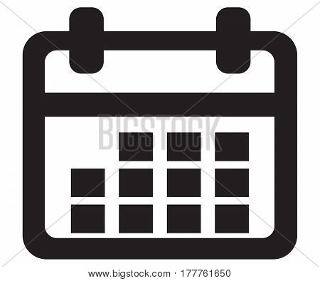 calendar Icon annual appointment art bound business