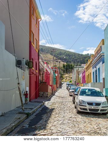 The Bo-kaap In Cape Town Is Known For Its Brightly Painted Houses