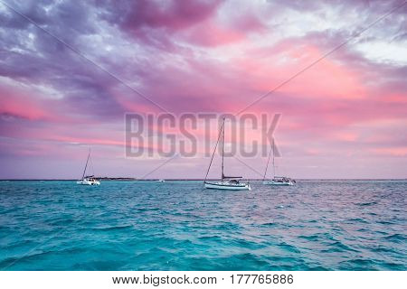 Sailing Yacht, Cruise On A Catamaran
