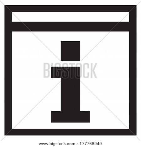 Information icon  symbol sign info help icon round internet helpdesk